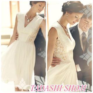 TADASHI SHOJI - タダシショージ⬛︎バック刺繍 ドレス