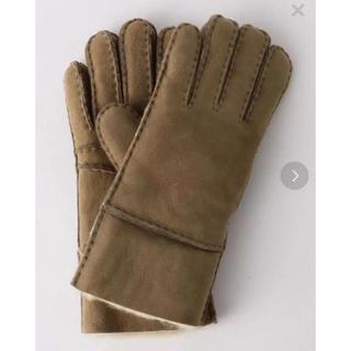 ビューティアンドユースユナイテッドアローズ(BEAUTY&YOUTH UNITED ARROWS)の新品 ムートングローブ(手袋)