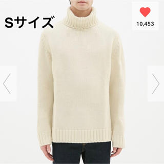 GU - 完売☆GU☆ローゲージタートルネックセーター☆Sサイズ☆SNSで大人気♪♪