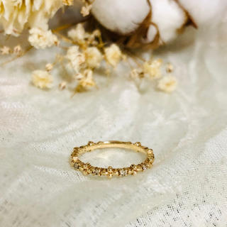 ノジェス(NOJESS)の【お値下げ】ノジェス  ピンキーリング ダイヤモンド(リング(指輪))