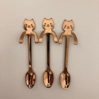 猫 スプーン(スプーン/フォーク)