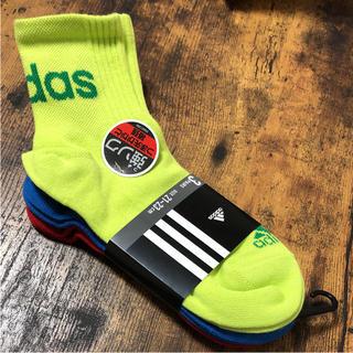 アディダス(adidas)のアディダス 靴下 21〜23センチ 3足セット (靴下/タイツ)