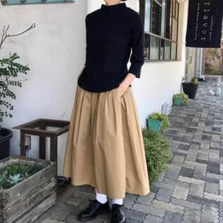 カトー(KATO`)のうさこ様専用 GRANDMA MAMA DAUGHTER プリーツ スカート(ロングスカート)