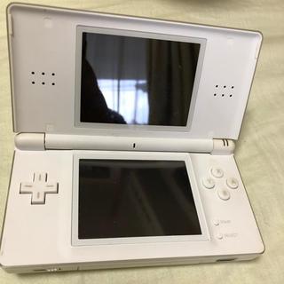 ニンテンドーDS(ニンテンドーDS)のDS 白(携帯用ゲーム本体)