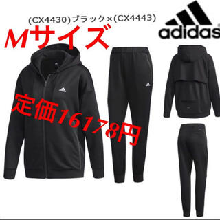 アディダス(adidas)の新品‼︎  adidas レディース ハイブリッド スウェット 上下セット M(その他)