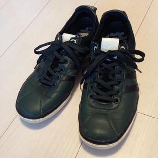adidas スニーカー 革