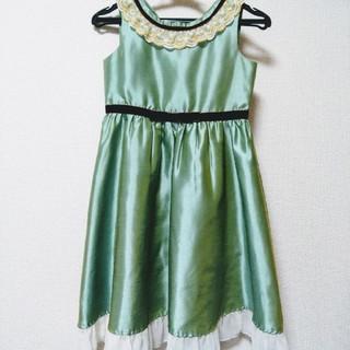 キャサリンコテージ(Catherine Cottage)の【たみこさん専用】子供ドレス 130 パニエ付!キャサリンコテージ(ドレス/フォーマル)