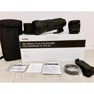SIGMA - SIGMA 150-600mm F5-6.3 1.4xテレコンキット キャノン用