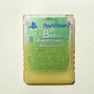 プレイステーション2(PlayStation2)のPS2メモリーカード  ソニー純正 即購入歓迎 8MB 1個(家庭用ゲーム本体)