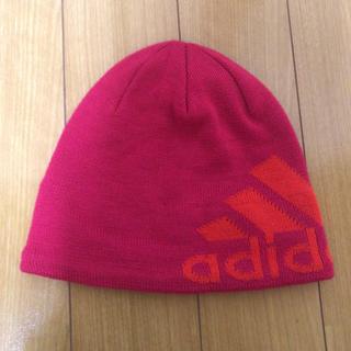 アディダス(adidas)のニット帽 ジュニア(ニット帽/ビーニー)