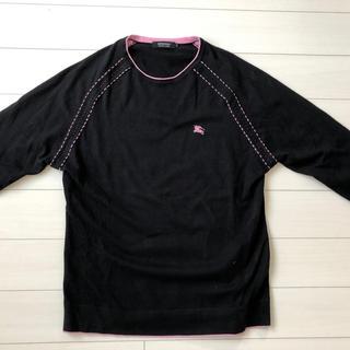 バーバリーブラックレーベル(BURBERRY BLACK LABEL)の❤️ バーバリーブラックレーベル ニットセーターburberryクレストブリッジ(ニット/セーター)