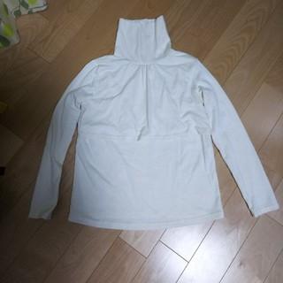ニシマツヤ(西松屋)の授乳服 タートルネック サイズM(マタニティトップス)