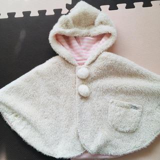 ブリーズ(BREEZE)のBREEZE baby☆ポンチョコート(80〜90cm)(ジャケット/コート)
