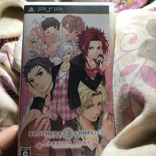 プレイステーションポータブル(PlayStation Portable)のPSPソフト BROTHERS • CONFLICT ぱっしょんぴんく(携帯用ゲームソフト)