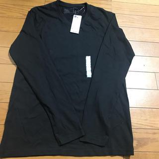 ジーユー(GU)のジーユー Vネック長袖シャツ(Tシャツ/カットソー(七分/長袖))