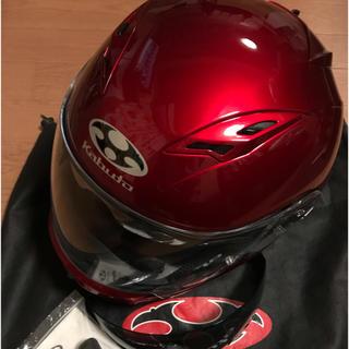 オージーケー(OGK)のフルフェイスヘルメットOGKカブト カムイ サイズXS(ヘルメット/シールド)