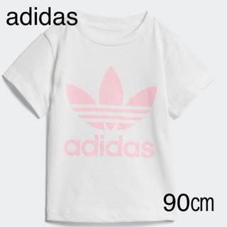 アディダス(adidas)の90㎝ adidas originals アディダス トレフォイル Tシャツ(Tシャツ/カットソー)