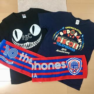 the telephonesライブTシャツ、タオルセット(ミュージシャン)