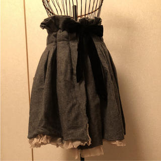 アバハウスドゥヴィネット(Abahouse Devinette)のデザイン巻きスカートAbahouse (ひざ丈スカート)
