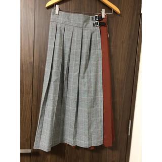 新品❤️abcunface 切り替えスカート
