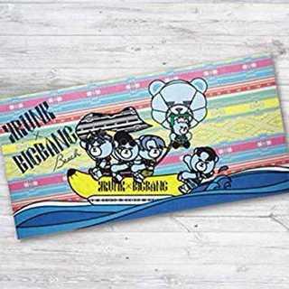BIGBANG KRUNK beach バスタオル 大 由比ヶ浜ビーチ(アイドルグッズ)