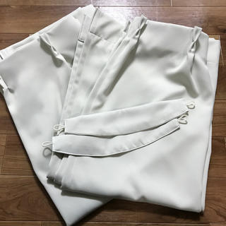 遮光カーテン 2枚組 タッセル付き(カーテン)