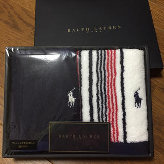 ラルフローレン(Ralph Lauren)の紅ほっぺさん専用  RALPH LAUREN  ウォッシュタオル2枚組(タオル/バス用品)