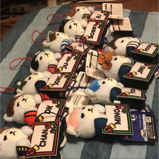 アイコン(iKON)のiKON クリスマスマスコット(アイドルグッズ)