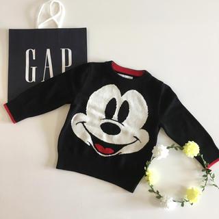 ベビーギャップ(babyGAP)の新品♡新作♡baby gap♡ミッキー ディズニー セーター ニット/ユニクロ他(ニット)