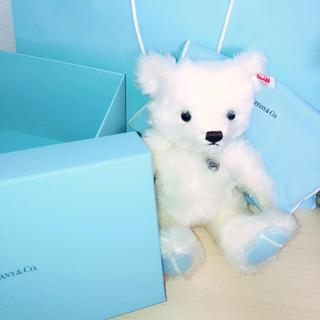 ティファニー(Tiffany & Co.)のTiffany&Co テディベア(ぬいぐるみ)