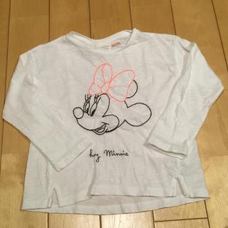 ザラ(ZARA)のザラ ベビー ミニー トップス 18-24m 92cm 未使用(Tシャツ/カットソー)