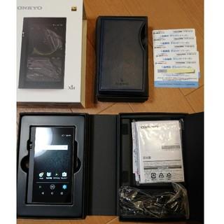 オンキヨー(ONKYO)のONKYO DP-X1A (新品未使用)(ポータブルプレーヤー)