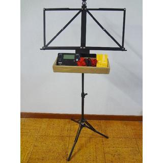 超軽量小型譜面台+譜面台ラック(L)セット