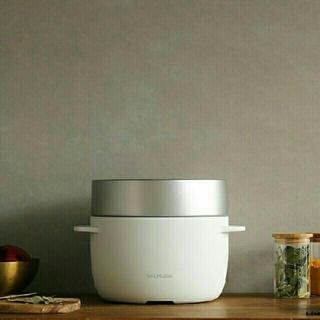 BALMUDA - バルミューダ 白 炊飯器