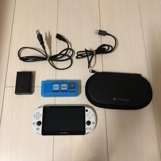 プレイステーションヴィータ(PlayStation Vita)の箱なし  PS VITA &ソフトセット(携帯用ゲーム本体)