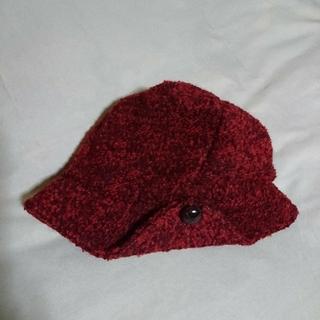 ネストローブ(nest Robe)のモダン  モコモコニット帽子♪(ニット帽/ビーニー)