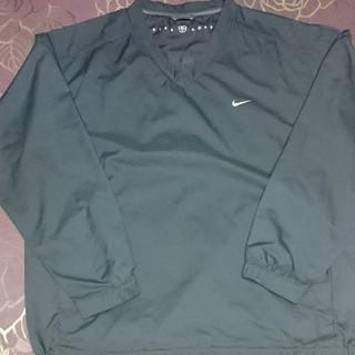 ナイキ(NIKE)の特価 NIKE ナイロンプルオーバー 黒 カジュアル ストリート スポーツ XL(Tシャツ/カットソー(七分/長袖))