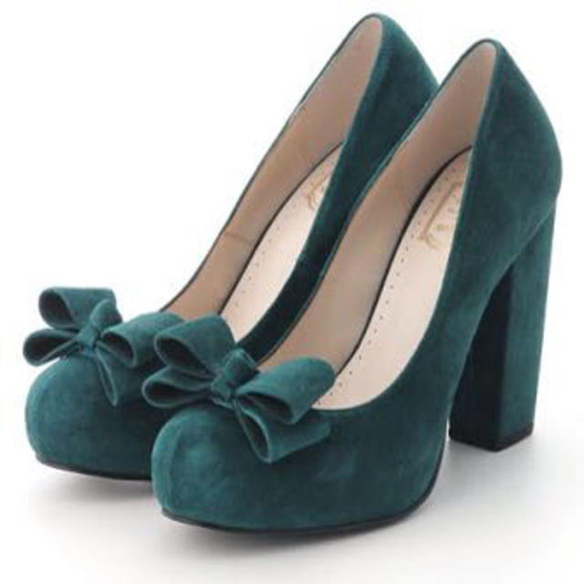 snidel(スナイデル)のスナイデル★リボンパンプス レディースの靴/シューズ(ハイヒール/パンプス)の商品写真