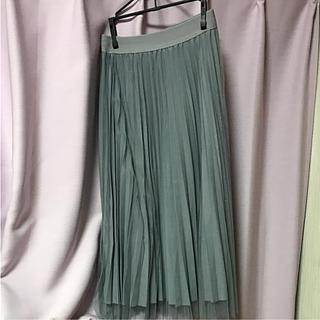 アンティックラグ(antic rag)のAntic rag 今期 チュールプリーツ スカート(ロングスカート)