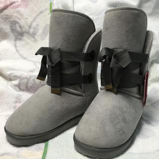 ジェニィ(JENNI)のSISTER JENNI ムートン風ブーツ 24cm(ブーツ)