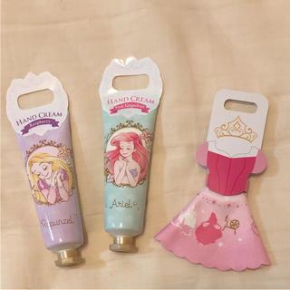 ディズニー(Disney)の❤️新品☆3点セット☆ハンドクリーム☆めがね拭き☆プリンセス(ハンドクリーム)