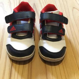 アディダス(adidas)のアディダスキッズスニーカー 13.5cm/記名あり(スニーカー)