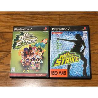 プレイステーション2(PlayStation2)のPS2ソフト ダンスダンスレボリューション 2枚セット(家庭用ゲームソフト)