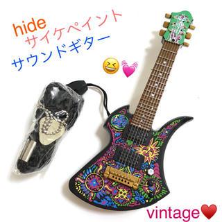 激レア💕 X JAPAN hide サイケペイント サウンド ギター(ミュージシャン)
