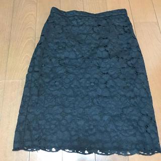デミルクスビームス(Demi-Luxe BEAMS)のレーススカート(ひざ丈スカート)