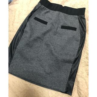 ZARA - 異素材スカート