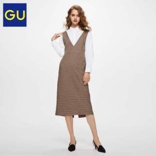 GU - GU  ジャンパードレス 新品