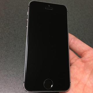 アイフォーン(iPhone)の希少iOS8.3 美品 iPhone5s 64GB docomo グレー(スマートフォン本体)