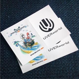 UVERworld レッドブル ステッカー 2枚 非売品(ミュージシャン)