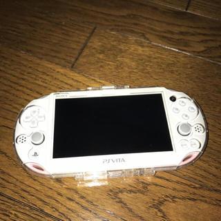 PSvita 白ピンク(携帯用ゲーム本体)